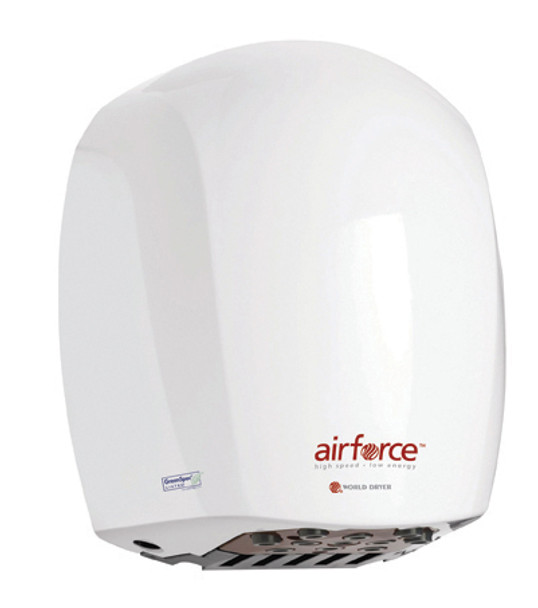 World Dryer Airforce J-974 White hand dryer