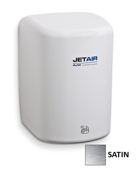 AJW Jet Air U1512EA-SF Satin Stainless Steel High Speed Hand Dryer - 120v