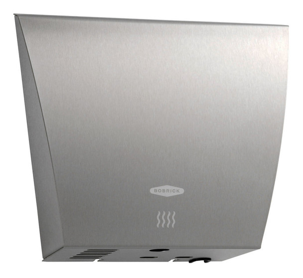 Bobrick InstaDry B-7125 Hand Dryer is high speed, ADA compliant and has a brushed satin stainless steel cover.