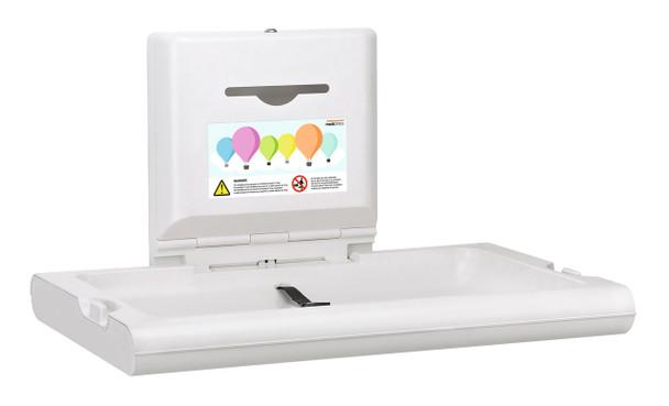 BabyMedi CP0016H-ASTM Diaper Changing Station by Saniflow