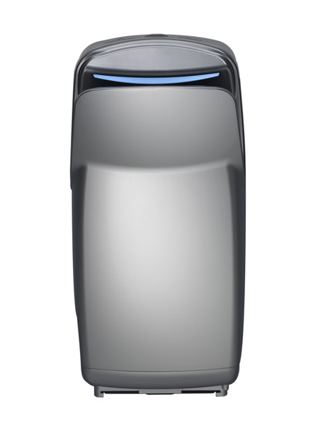 V-649A VMax V2 Hand Dryer by World Dryer is a vertical high-speed hand dryer with a Silver high impact ABS cover.