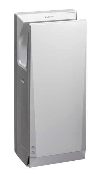The New V9 Slim Mitsubishi Jet Towel JT-SB-116JH2-W-NA High-Speed Hand Dryer.