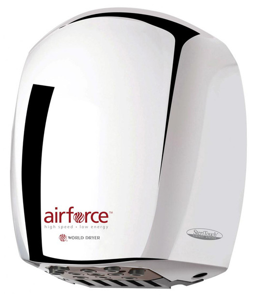 Airforce J-972 Automatic Stainless Steel Polished Hand Dryer by World Dryer Corp