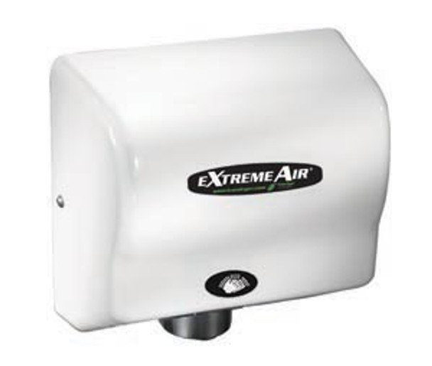 American Dryer EXTREMEAIR EXT7 ABS White commercial hand dryer