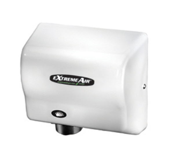 American Dryer eXtremeAir GXT9-M Steel White commercial hand dryer