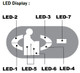 World VMax hand dryer LED display