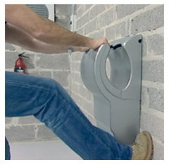 Dyson Airblade AB14 hand dryer is tough