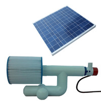 Bottom Feeder 10000 Gallon Pool or Spa 60-watt Solar Pump and Filter System