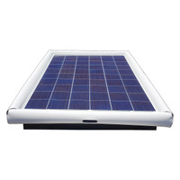 Savior Surface Pool Skimmer Floating Solar Pool Cleaner 60watts Solar Powered