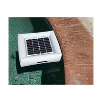 Savior Ozone Aerator Pool Spa Pond 100mg 10-watt Solar Powered System