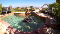Ninja Water Shoes Plus Package 95 lbs. Above  - Glide On Top Of The Water