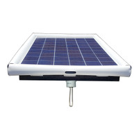 Pond De-Icer Floating Solar Electric Water Heater 120-watt Solar Powered