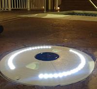 Savior Skimmer Lid Solar Skimmer Lid White Light