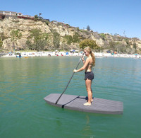 EVA SUP 8.0 Yogi Stand Up Paddle Board - Silver