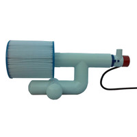 Bottom Feeder 5000 Gallon Pool or Spa 110v Plugin Pump and Filter System