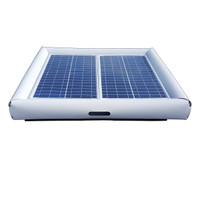 Savior Surface Pool Skimmer Solar Pool Cleaner 60-watts Solar Powered