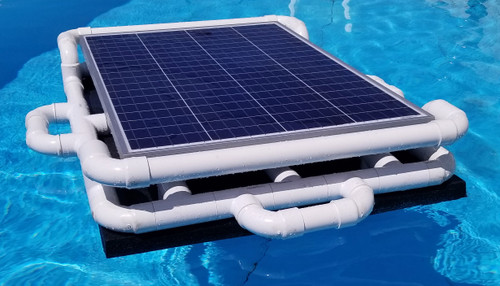 Savior 15000 Gallon Pool 120-watt Solar Pump and  Filter System Solar Pool Cleaner