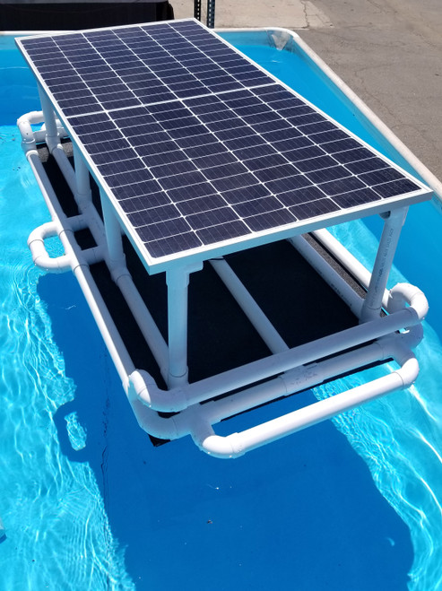 Savior 40000 Gallon Pool 750-watt Solar Pump and Filter System Solar Pool Cleaner  - Rise Arm Option