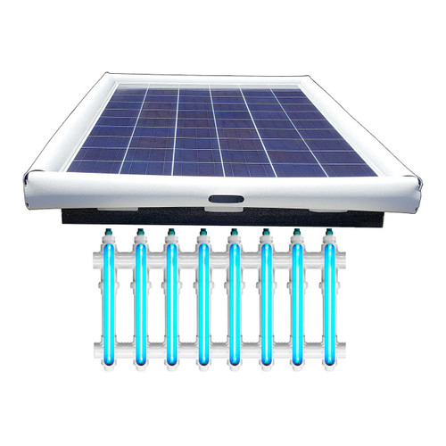 Savior UV Ultraviolet Pool Sanitation Disinfection Systems 120-watt Solar Powered 40,000 Gallon