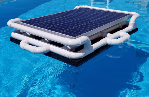 Savior 20000 Gallon Pool 120-watt Solar Pump and Filter System Solar Pool Cleaner