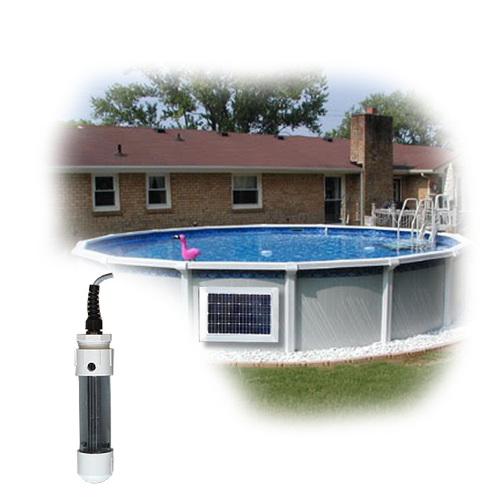 Above Ground Pool Magnet Wireless Power Salt Generator System 2