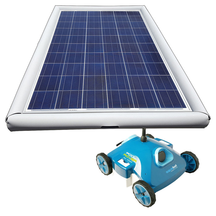 Savior Cleaner Robotic 120-watt Solar Pool Cleaner