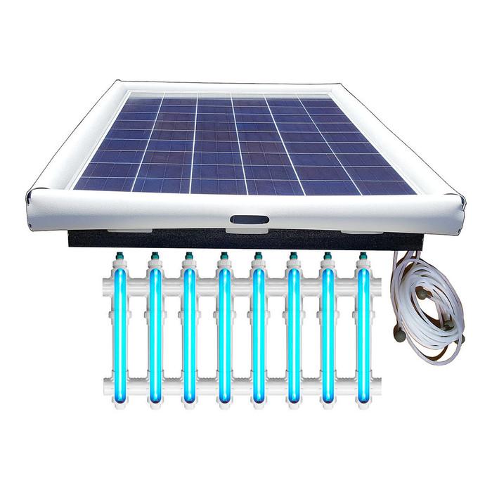 Savior UV O3 Ultraviolet Ozone Pool Sanitation Disinfection Systems 250-watt Solar Powered 75,000 Gallon