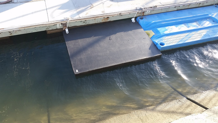 Savior Dinghy Boat Lift Dock and Emergacey Float  - Unsinkable  - 8 X 6 Feet Long