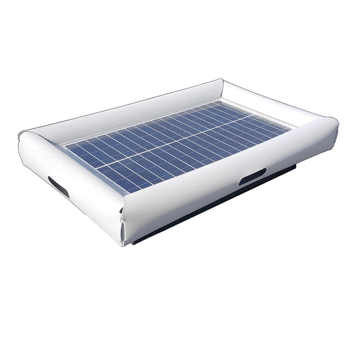 Savior Portable Sun Power Charger USB Jack 25W 1.7amp 20000mAh Li-ion External Battery for Device Life 72-in L x 72-in W x 4-in H