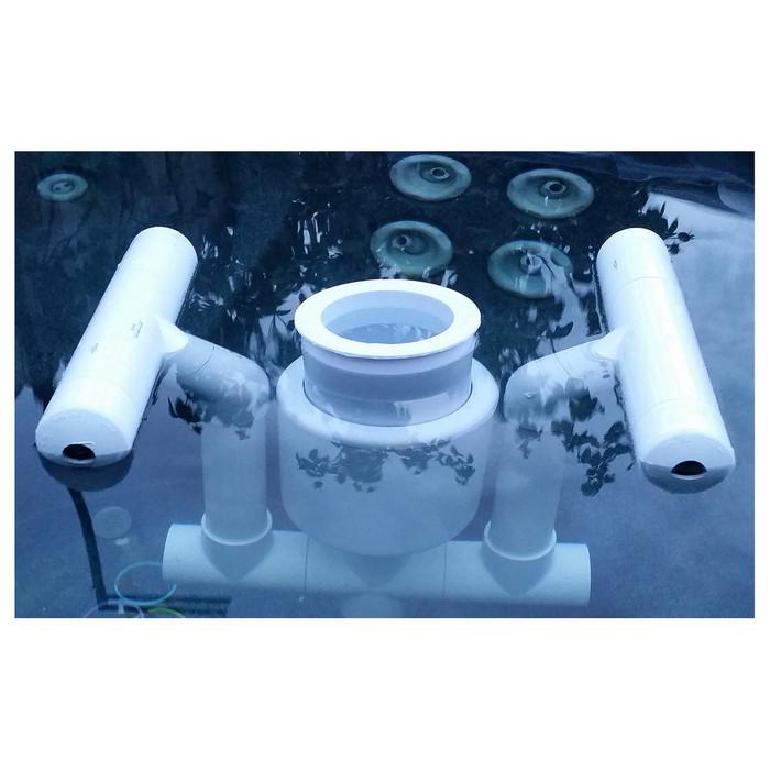 Savior Surface Pond Skimmer Attachment Pond Kit for Savior 10000 Gallon System