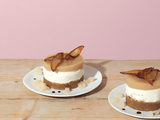 Chestnut cream, pears, Fourme d'Ambert & Brillat Savarin in a dessert!