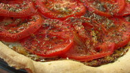 Tarte aux Moutarde (French Tomato and Mustard Tart)