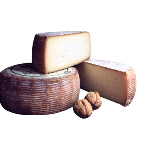 Tomme des Croquants matured with Walnut Liqueur