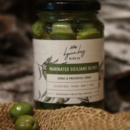 Marinated Sicilian Olives by Byron Bay Olive Co