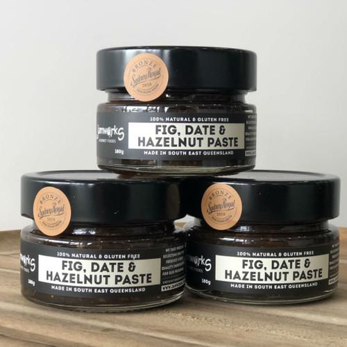 Fig, Date & Hazelnut Paste - 180g Jamworks