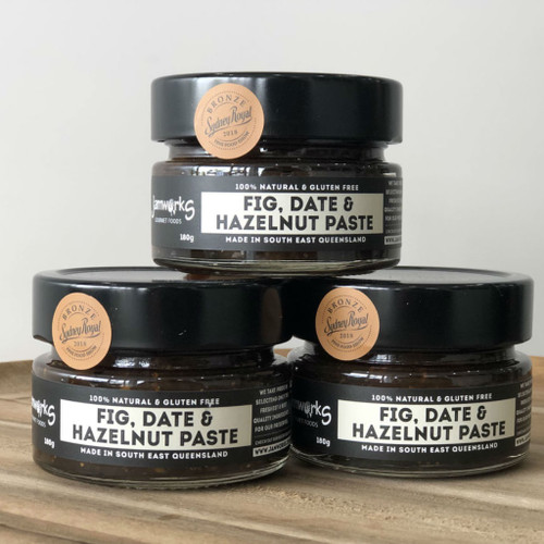 Fig, Date & Hazelnut Paste - 180g Jamworks