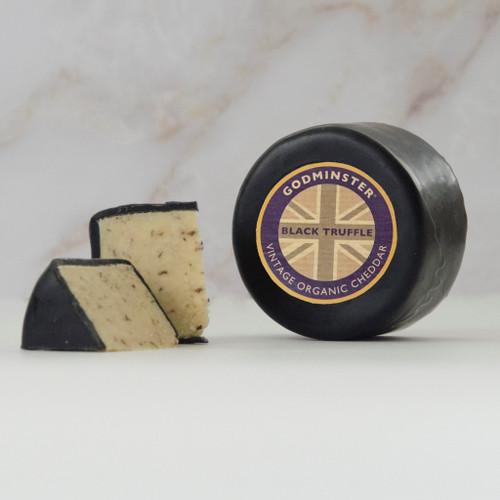 Black Truffle Vintage Organic Godminster Cheddar 200g