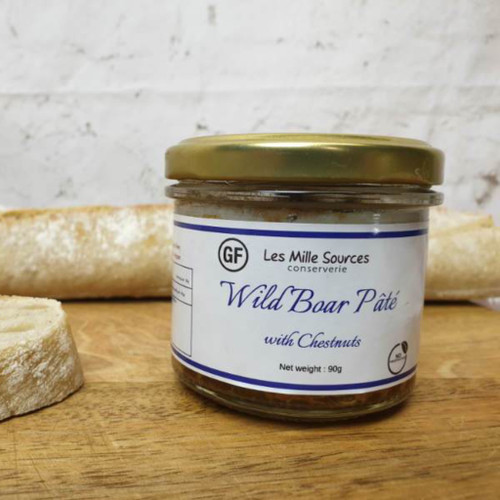 Wild Boar with Chesnuts Pate