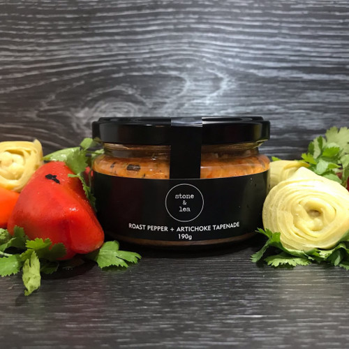 Roast Pepper + Artichoke Tapenade 190g