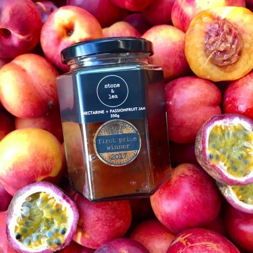Nectarine + Passionfruit Jam 350g