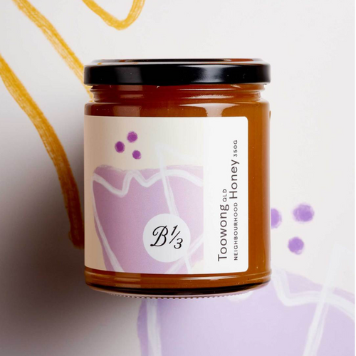 Bee One Third Toowong Honey 350g