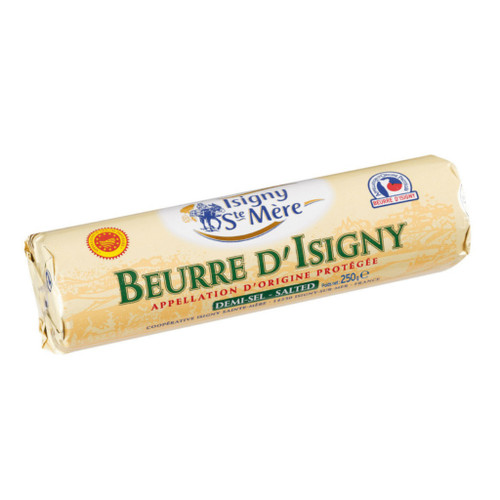 PDO Isigny Salted Butter Roll 250g