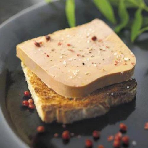 Bloc of Duck Foie Gras Mi Cuit 1kg Soulard