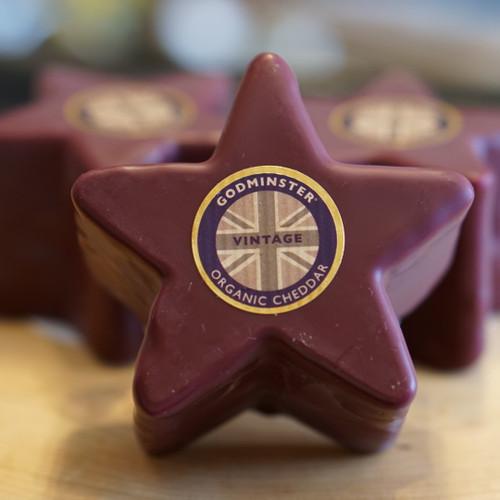 Godminster Vintage Organic Cheddar Star 200g