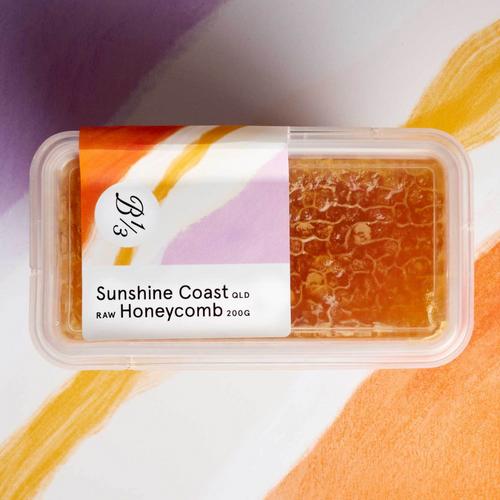 Bee One Third Sunshine Coast QLD Raw Honeycomb 200g