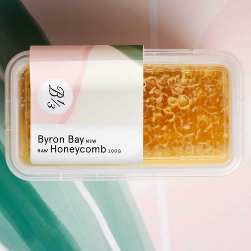 Bee One Third Byron Bay NSW Raw Honeycomb 200g