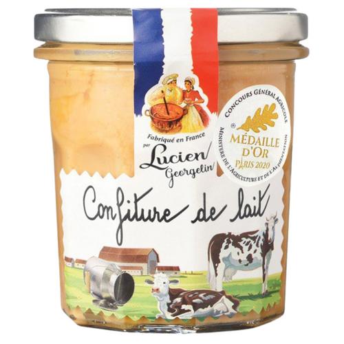 Normandy Milk Jam 320g - Lucien Georgelin