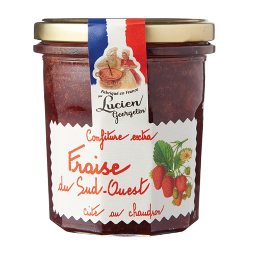 Strawberry Extra Jam 350g - Lucien Georgelin