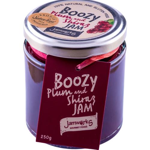 Boozy Jam Plum and Shiraz - 250g Jamworks