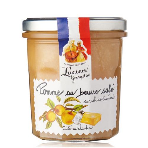 Salted butter Apple with Guerande Salt - 350g Lucien Georgelin
